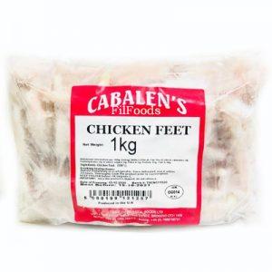 Cabalen Chicken Feet / Paw 1Kg