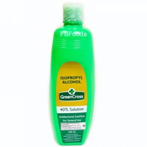Green Cross Rubbing Alcohol (40% Solution) 500ml