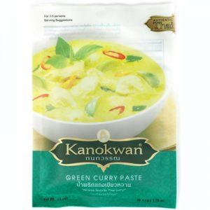 Kanokwan Green Curry Paste 50g