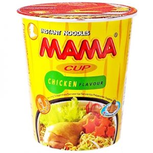 Mama Cup Chicken Flavour Noodles 70g