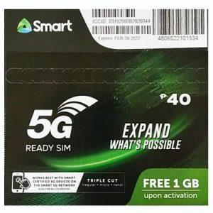 Smart 5G Ready Sim Card