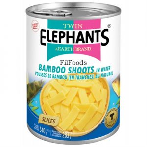 Twin Elephants Bamboo Shoots (Slices) in Water 540