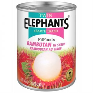Twin Elephants Rambutan in Syrup 565g