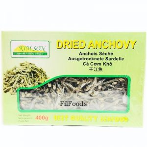 Kimson Dried Anchovy 3-4cm (Boxed) 400g