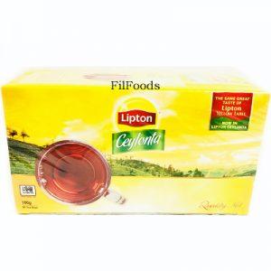 Lipton Ceylonta Tea Bags 50x2g