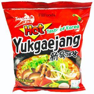 Samyang Yukgaejang Hot Mushroom Noodle Soup 120g
