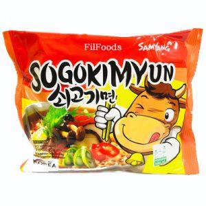 Samyang Sogokimyun Beef Noodle Soup 120g