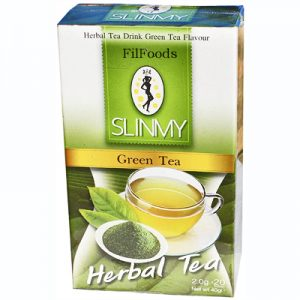 Slinmy Herbal Tea Drink – Green Tea 20x2g