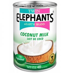 Twin Elephants Coconut Milk 400ml