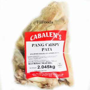 Cabalen's Pang-Crispy Pata (Boiled)