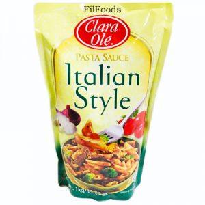 Clara Ole Spaghetti Sauce – Italian Style 1K
