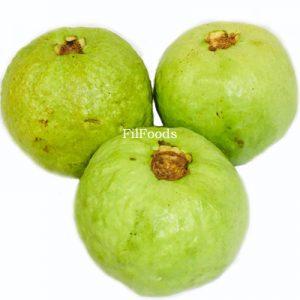 Fresh Green Bayabas (Large Round Guava) – £