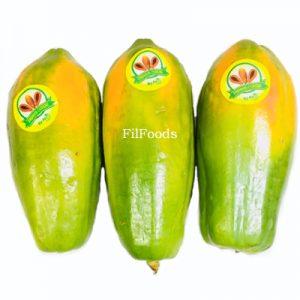 Fresh Ripe Long Papaya