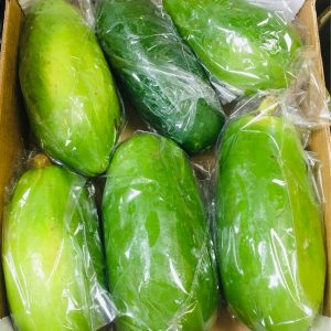 Fresh Green Long Papaya – £4.99/KG