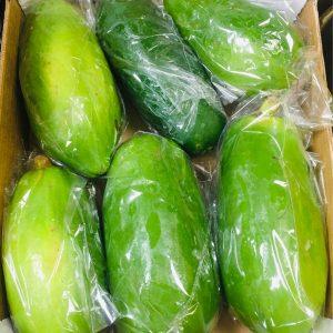 Fresh Green Long Papaya – £4.99/KG