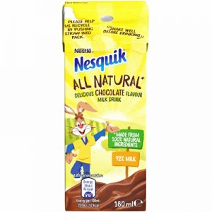 Nesquik All Natural Chocolate Milk (Ready to Drink