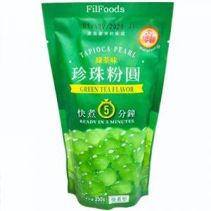WFY Green Tea Flavor Tapioca Pearl
