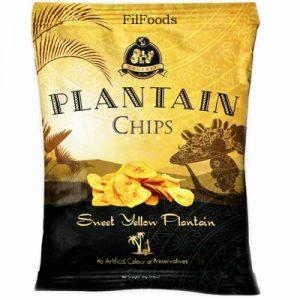 Olu Olu Yellow Plantain Chips 60g