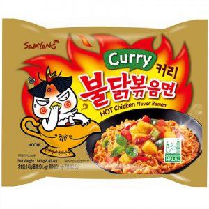 Samyang Hot Chicken Ramen – Curry 140g