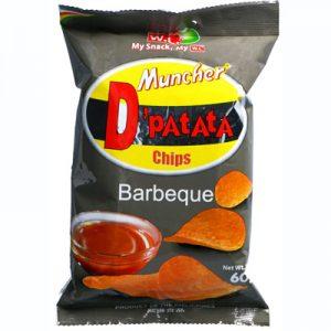 WL Muncher D'Patata Chips BBQ 60g