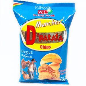 WL Muncher D'Patata Chips Cheese Flavor 60g