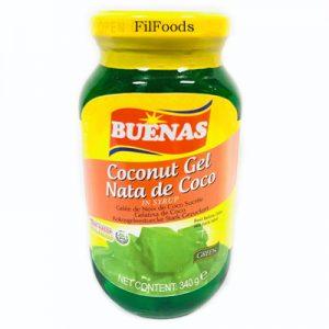 Buenas Nata De Coco Green 340g