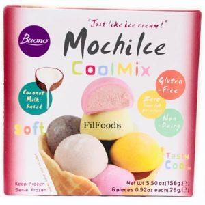Buono Mochi Ice Cream Dessert – Assorted 6x2