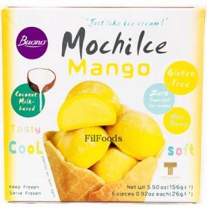 Buono Mochi Ice Cream Dessert – Mango 6x26g