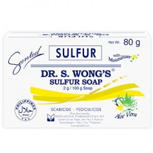 Dr. S. Wong's Sulfur Soap Scented with Aloe