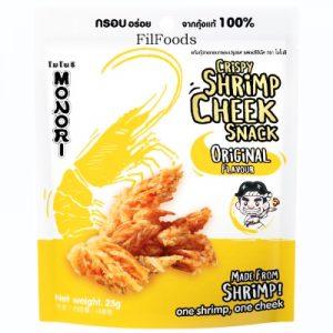 Monori Crispy Shrimp Cheek Snack – Original