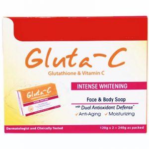 Gluta-C Intense Whitening Face & Body Soap wi