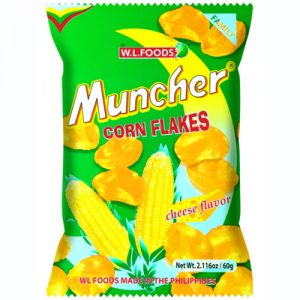 WL Muncher Corn Flakes Cheese Flavor 60g
